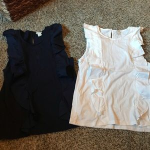 Set of 2 J. Crew tops size small